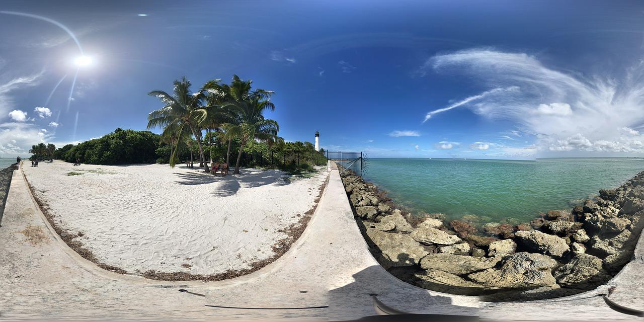 December winter beach Miami destination
