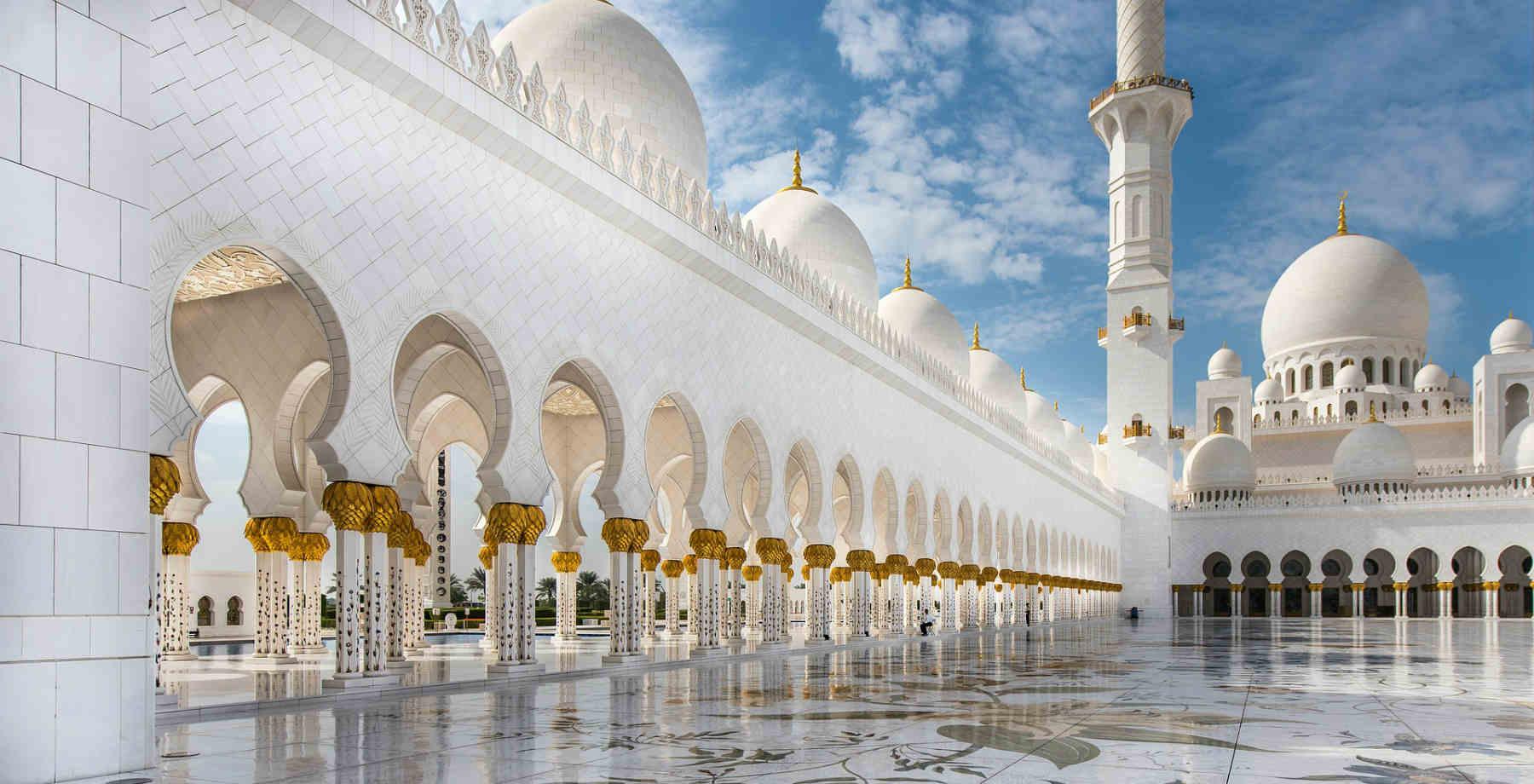 Abu Dhabi Mosque Go Easy Holidays