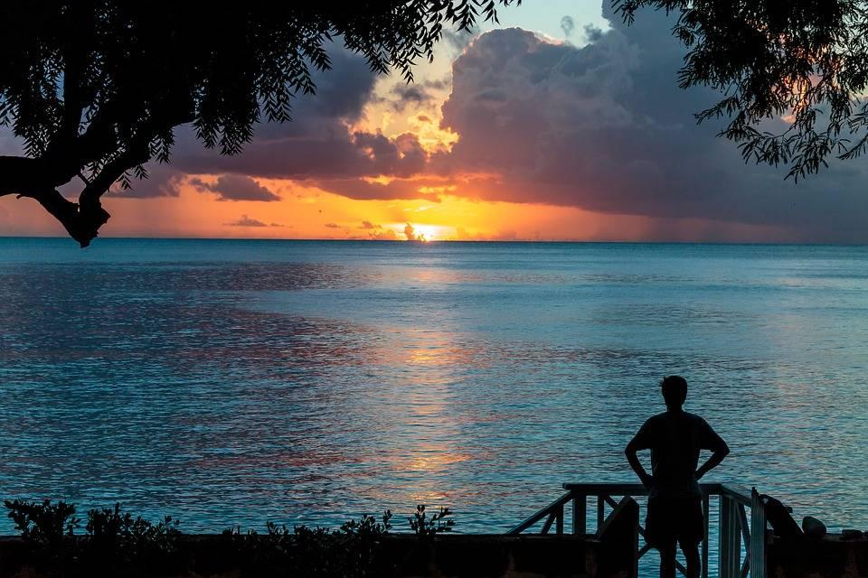 Barbados sunset (1)