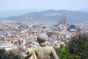 Barcelona City View Spain