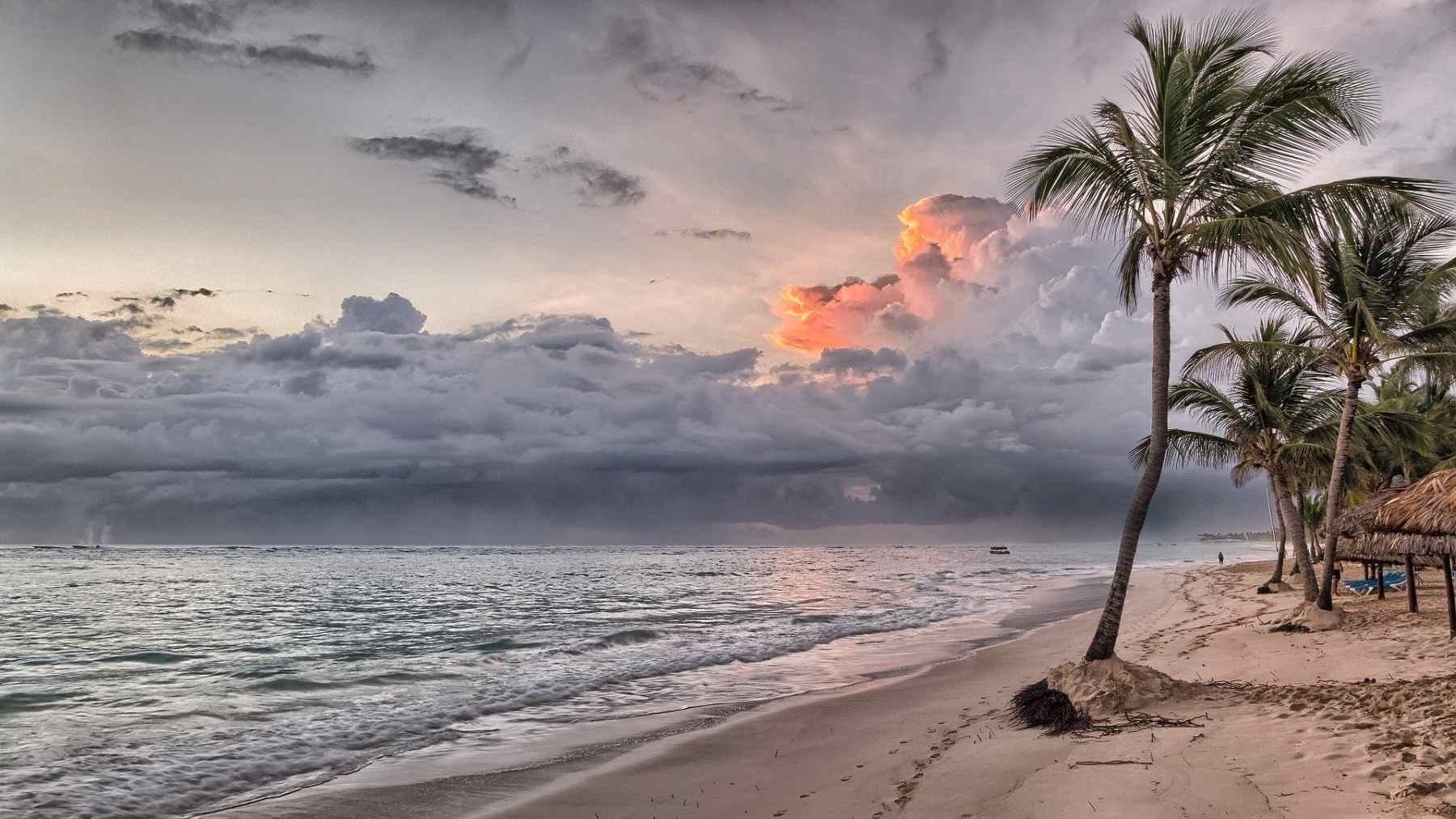 Dominican Republic Beach sunset