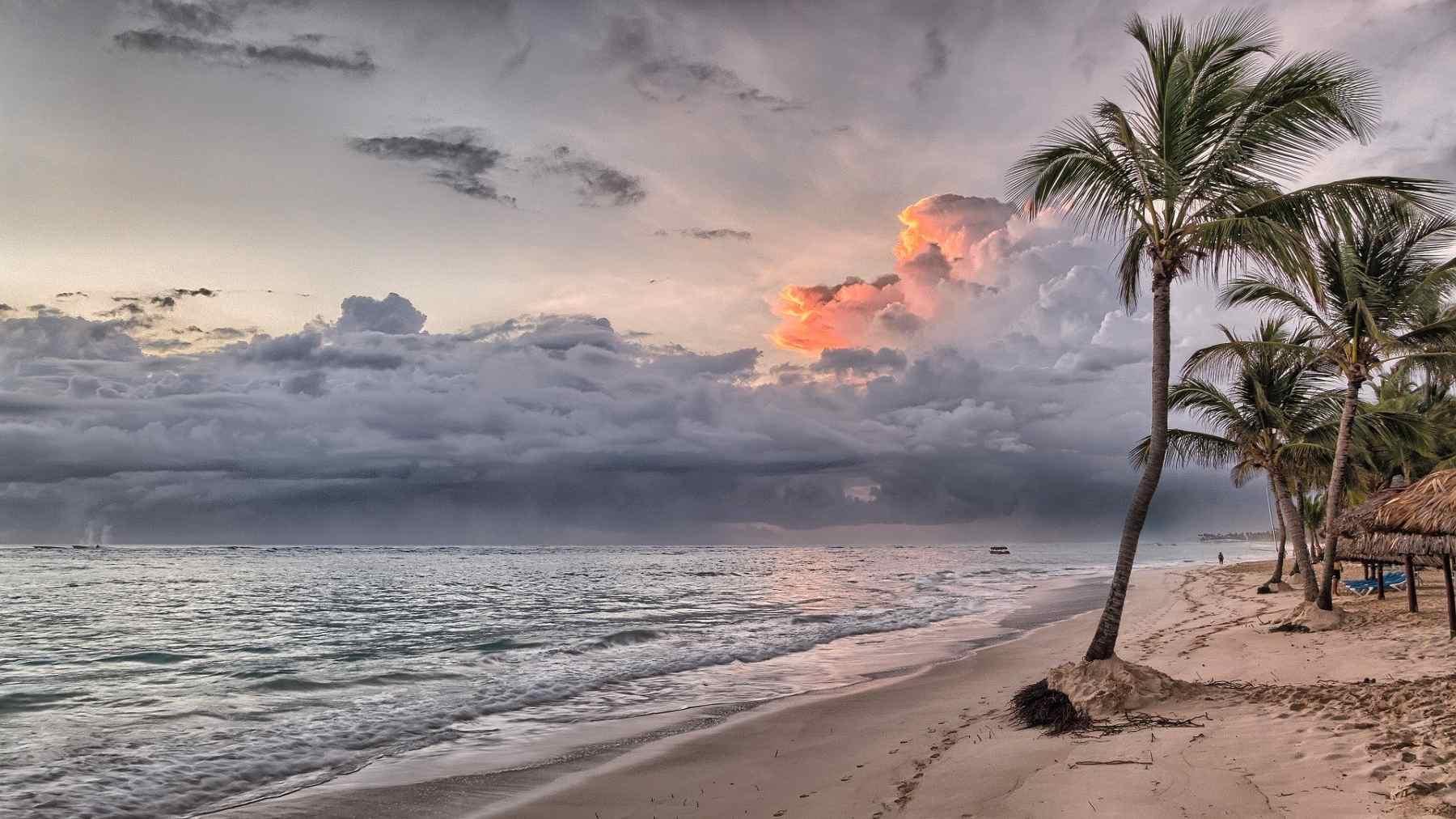 Dominican Republic Beach sunset