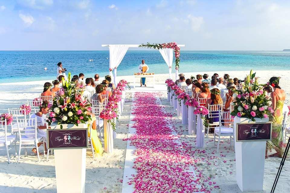 beach wedding Grand Cayman islands