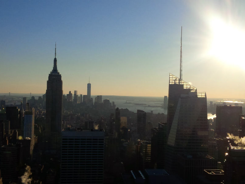 View from The Rock New York