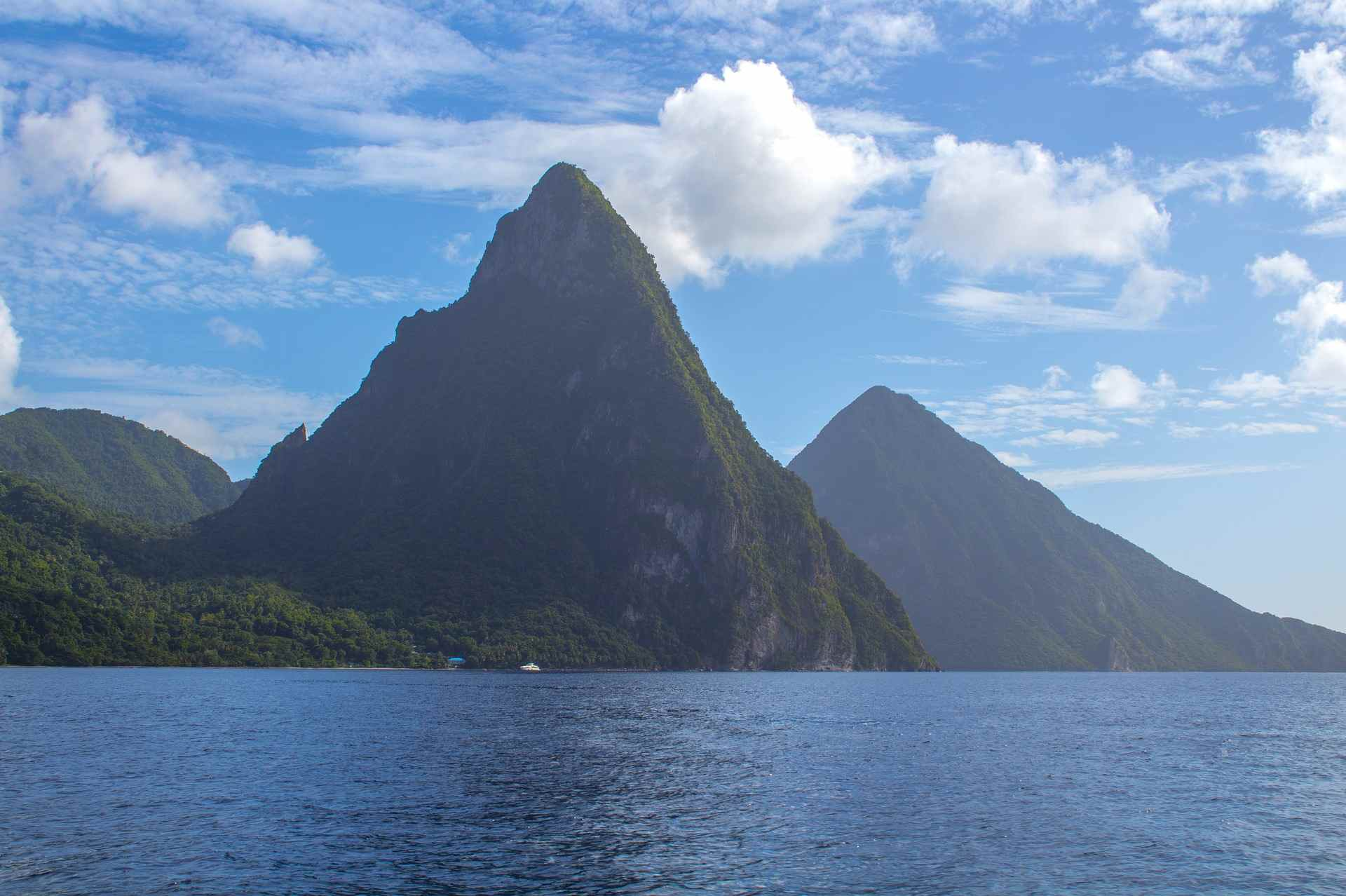 pitons-st lucia
