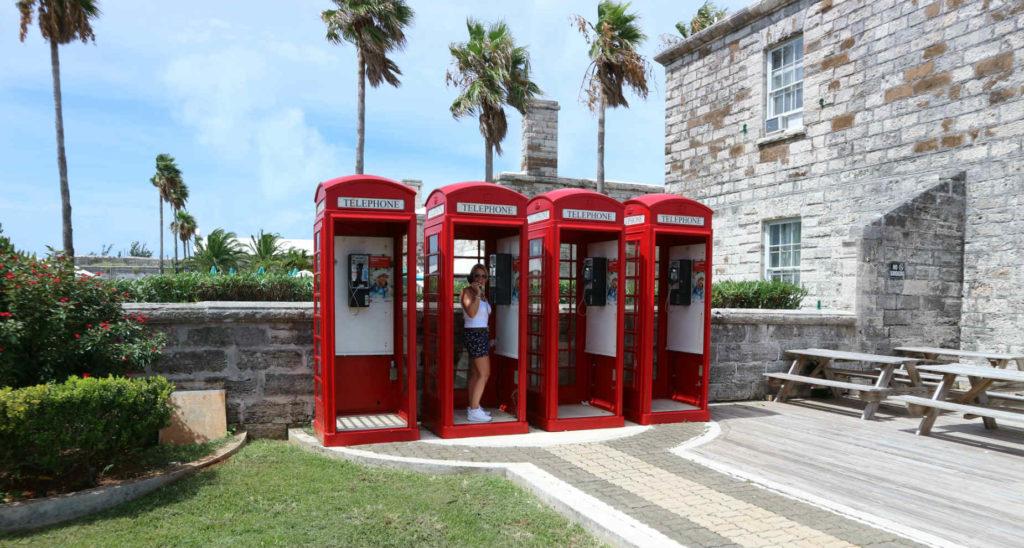 Bermuda Phone Boxes Go Easy Travel