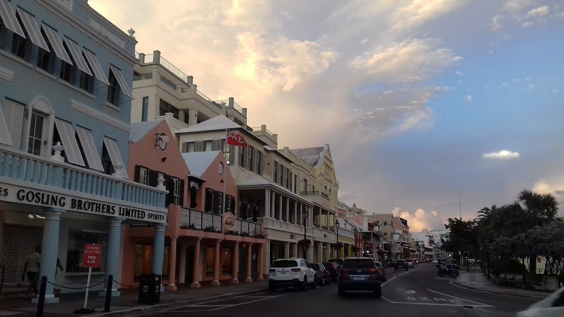 Front Street Shops Bermuda