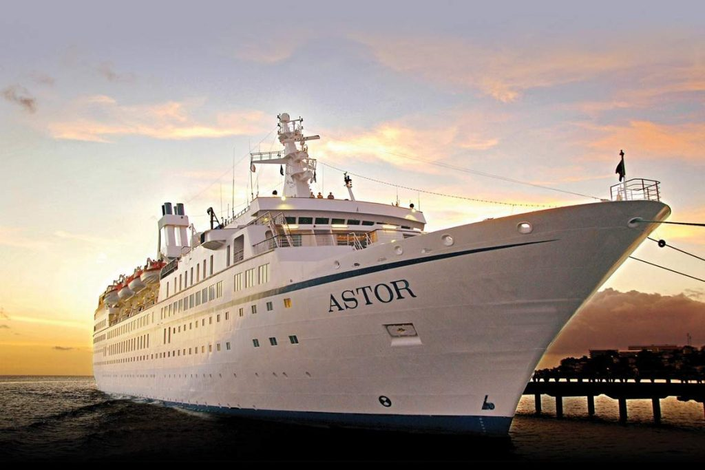 Cruise & Maritime Voyages Astor Exterior In Dock