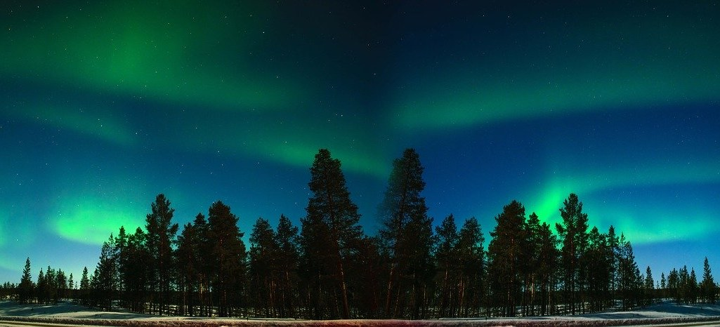 aurora borealis Norther Lights Lapland