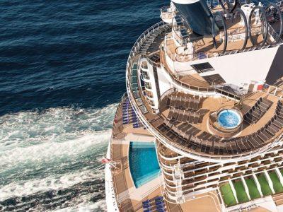 MSC Sea View cruise Atrium beach pool