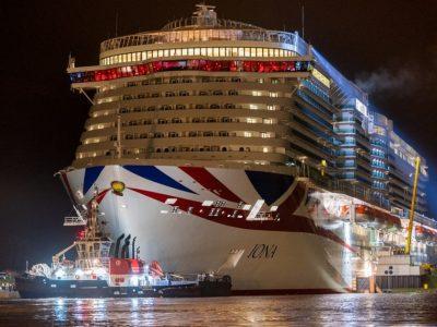 iona P&O Cruise SHip