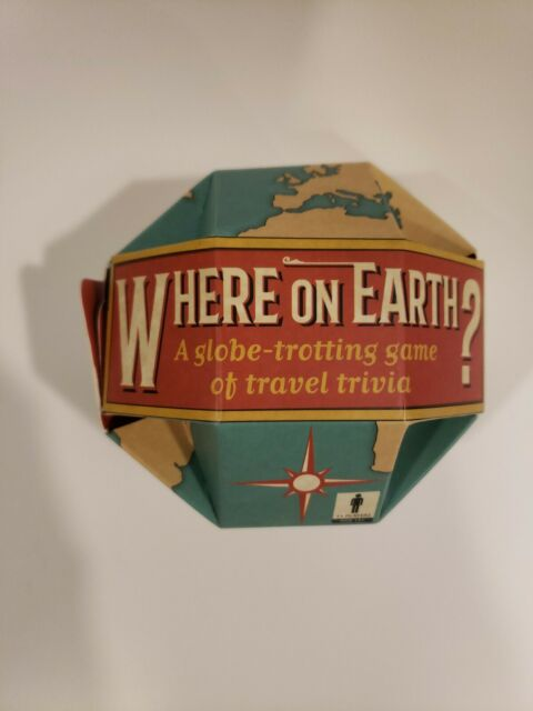 Where on earth game